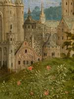 Jan van Eyck~The Ghent Altarpiece Adoration of the