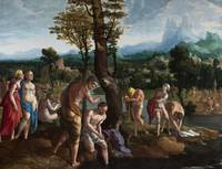 Jan van Scorel~The Baptism of Christ in the Jordan