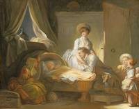 Jean-Honoré Fragonard~The Visit to the Nursery
