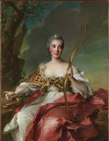 Jean-Marc Nattier~Madame Bergeret de Frouville as