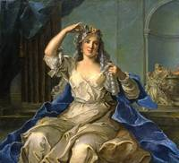 Jean-Marc Nattier~Portrait of a Lady as a Vestal V