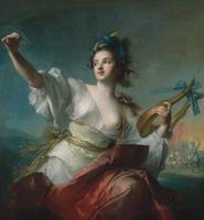 Jean-Marc Nattier~Terpsichore, Muse of Music and D