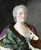 Jean-Étienne Liotard~Maria Theresa Queen of Hungar