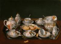 Jean-Étienne Liotard~Still Life Tea Set