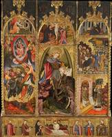 Joan Mates, Joan Mates~Altarpiece of Saint Michael