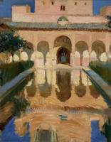 Joaquín Sorolla~Hall of the Ambassadors, Alhambra,