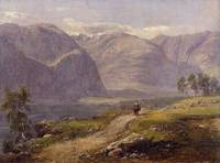 Johan Christian Dahl~Mountains at Laerdalen in Nor