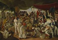 Johann Zoffany~Colonel Mordaunt's Cock Match