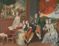 Johann Zoffany~The Gore Family with George, 3rd Ea
