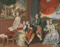 Johann Zoffany~The Gore Family with George, third