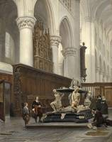 Johannes Bosboom~The Choir of the O.L.-Vrouwekerk