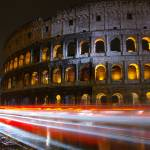 """Colosseum at Night"" by martaanna"