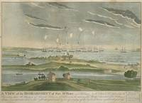 John Bower~A View of the Bombardment of Fort McHen