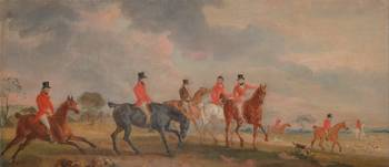John Finley~The Quorn Hunt a Sketch of the Artist