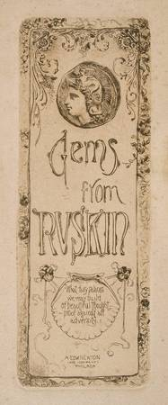 John French Sloan~Gems from Ruskin