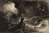 John Martin~Plate from 'Illustrations to the Bible