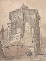 John Sell Cottman~East End of Saint Jacques at Die