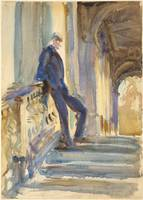 John Singer Sargent~Sir Neville Wilkinson on the S