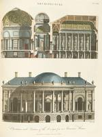 John Wilkes, of Milland House~Elevation and Sectio