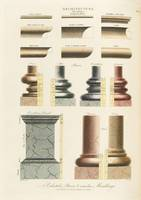 John Wilkes, of Milland House~Pedestals, Bases & r