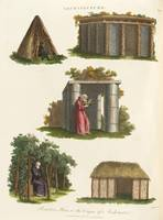 John Wilkes, of Milland House~Primitive Huts, or t