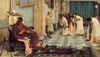 John William Waterhouse~The favourites of the Empe