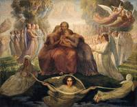 Louis Janmot~Poem of the Soul - The Ideal (view 17