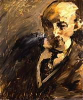 Lovis Corinth~Portrait of Alfred Kuhn