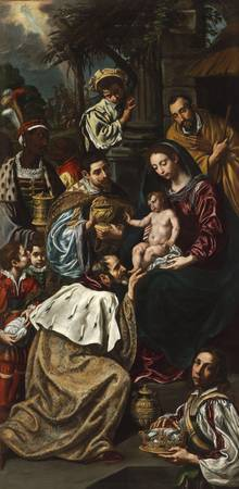 Luis Tristán~The Adoration of the Magi