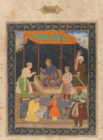 Manohar~The Elderly Akbar Receives Murtaza Khan