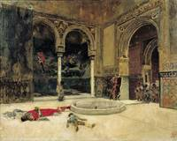Marià Fortuny~The Slaying of the Abencerrajes