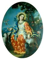 Miguel Cabrera~The Divine Shepherdess
