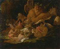 Joseph Noel Peyton~Puck and Fairies, from A Midsum