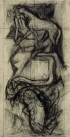 José Clemente Orozco~Study for east panel (Centaur
