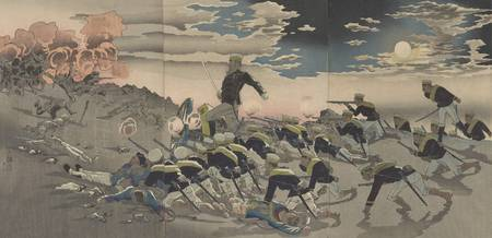 Kobayashi Kiyochika~Great Victory of our armed for