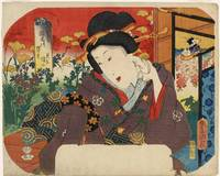 Kunisada~A Beauty and Flower Garden