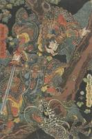 Kunisada~The Military Tales of Han and Chu Emperor
