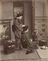 Kusakabe Kimbei~Hair Dressing