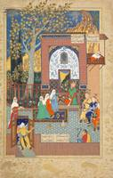 Late 16th Century~Faridun's Sons with the King of