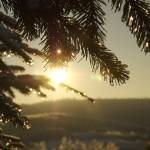 """February Sunrise"" by JoshHelfferich"