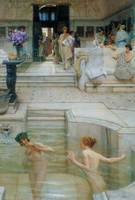 Lawrence Alma-Tadema~A Favourite Custom
