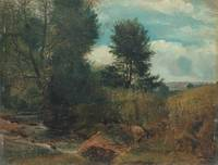 Lionel Constable~View on the River Sid, near Sidmo