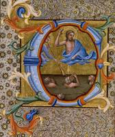Lorenzo Monaco~Last Judgment in an Initial C