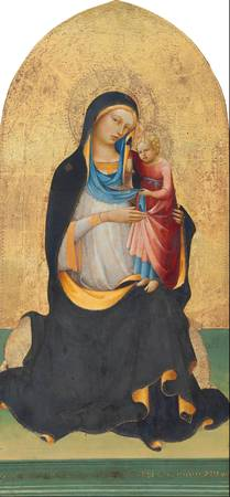 Lorenzo Monaco~Madonna and Child