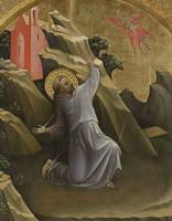 Lorenzo Monaco~Saint Francis Receiving the Stigmat