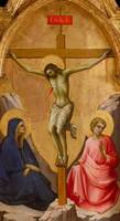 Lorenzo Monaco~The Crucified Christ between the Vi