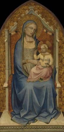 Lorenzo Monaco~Virgin and Child