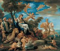 Luca Giordano~Series of the Four Parts of the Worl