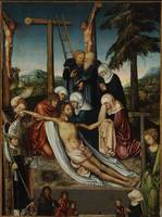 Luca, Old Lucas Kranach~Lamentation of Christ with