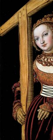 Lucas Cranach the Elder~Saint Helena with the Cros